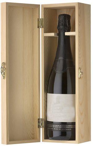 Wine Bottle in 1-bottle Wooden Wine Gift Box