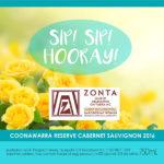 Zonta Club of Melbourne on Yarra - Coonawarra Reserve Cabernet Sauvignon 2016